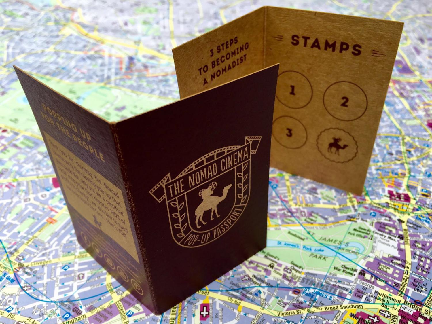 nomad pop-up passport to cinema