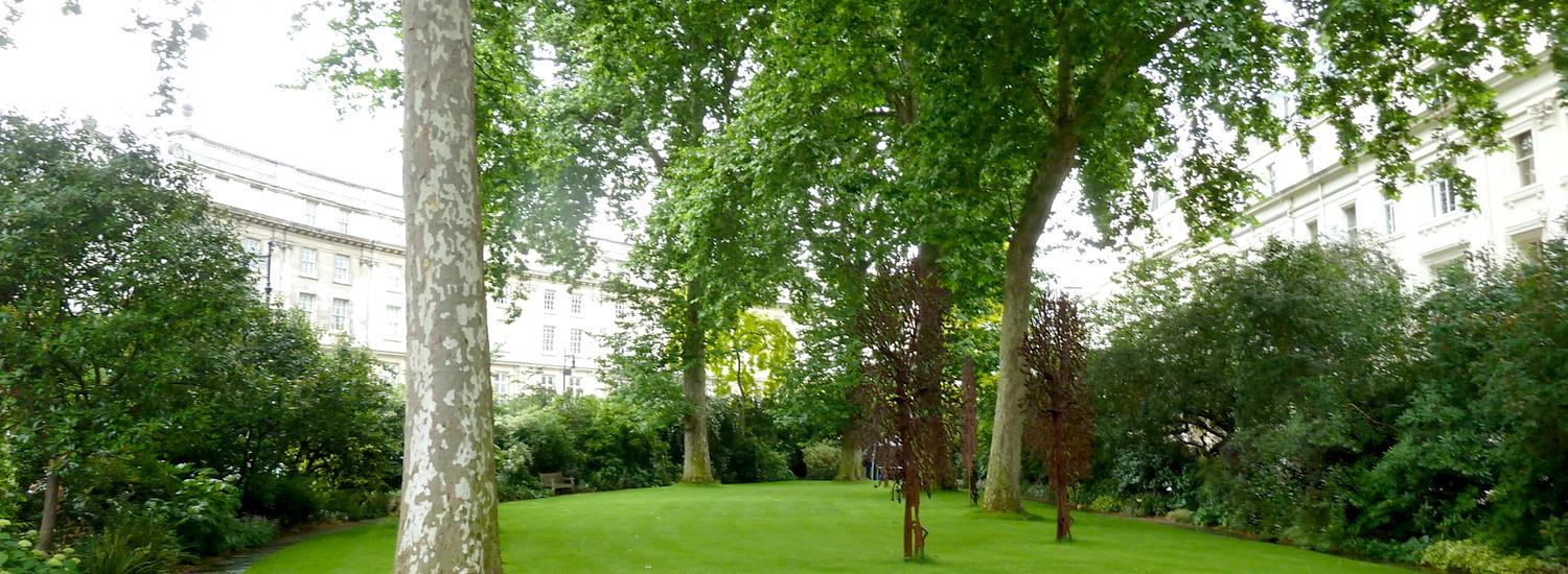 Wilton Crescent Garden Where is the Nomad